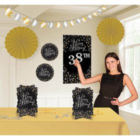 Sparkling Celebration Birthday Room Decorating Kit