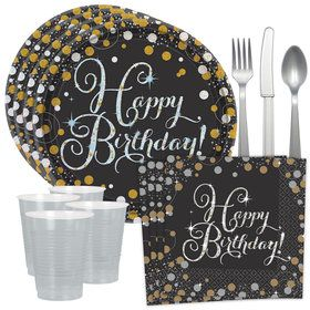 Sparkling Celebration Standard Tableware Kit (Serves 40)