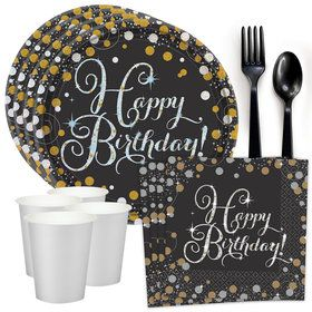 Sparkling Celebration Standard Tableware Kit (Serves 8)