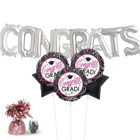 Sparkling Grad Balloon Kit (Each)