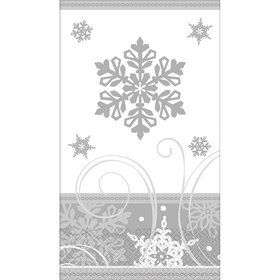 Sparkling Snowflake Guest Towels