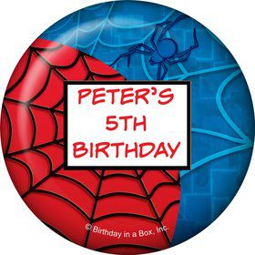 Spider Party Personalized Magnet (each)