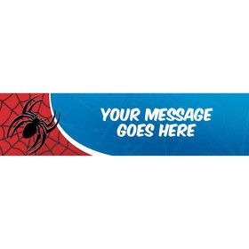 Spider Personalized Banner (Each)