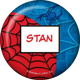 Spider Personalized Button (each)