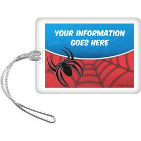 Spider Personalized Luggage Tag (Each)