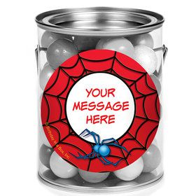 Spider Personalized Mini Paint Cans (12 Count)