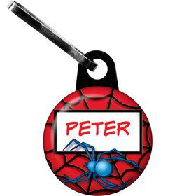 Spider Personalized Mini Zipper Pull (each)