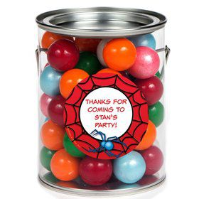 Spider Personalized Paint Can Favor Container (6 Pack)