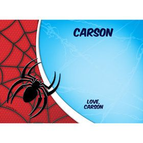Spider Personalized Thank You (Each)