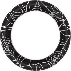 "Spider Web 7"" Cake Plates (40 Count)"