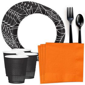 Spider Web Standard Tableware Kit (Serves 40)