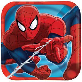 "Spiderman 7 "" Cake Plates (8 Pack)"