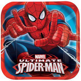 "Spiderman 9"" Luncheon Plates (8 Pack)"