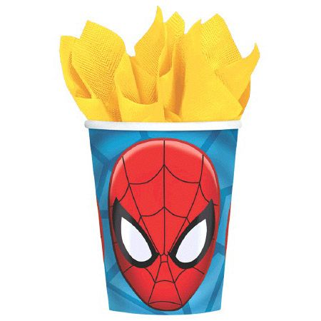 Spiderman 9Oz. Cups (8 Pack) BB581355