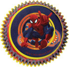 Spiderman Cupcake Baking Cups (50 Pack)