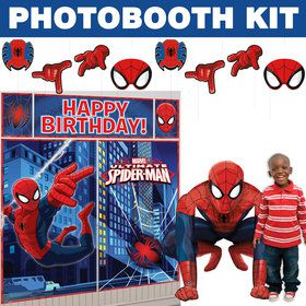 Spiderman Deluxe Photo Booth Kit