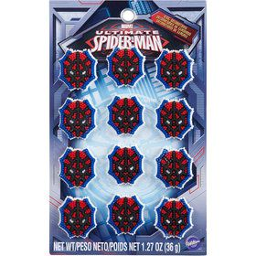 Spiderman Edible Icing Decorations (12 Pack)