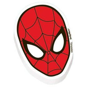 Spiderman Eraser Favors (12 Pack)