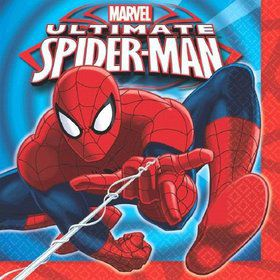Spiderman Luncheon Napkins (16 Pack)