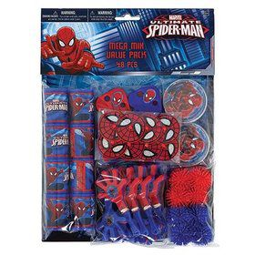 Spiderman Mega Mix Favor Pack (For 8 Guests)