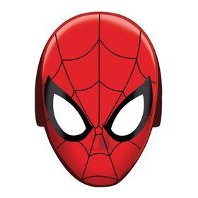 Spiderman Paper Masks (8 Pack)