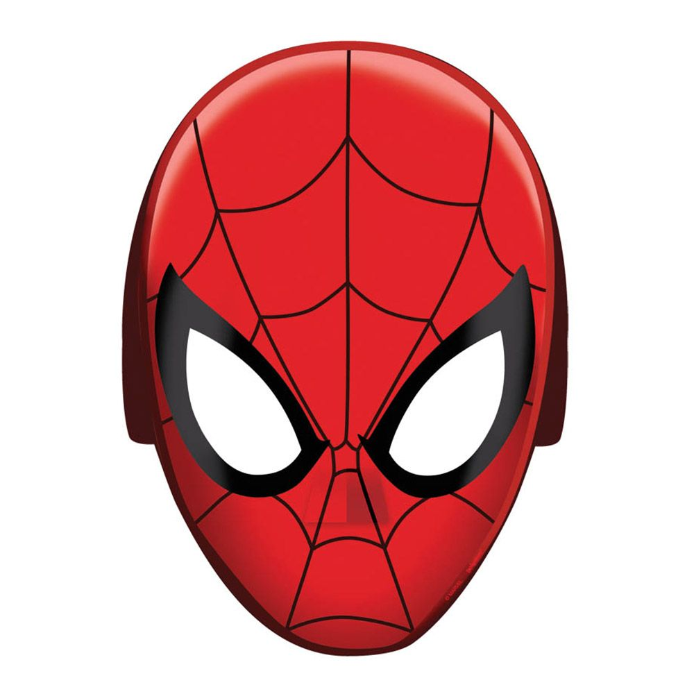 Spiderman Paper Masks (8 Pack) - Party Supplies BB360093