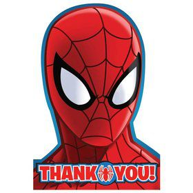 Spiderman Postcard Thank You Cards (8 Pack)