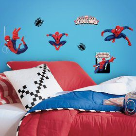 Spiderman Wall Decal Decoration (22 Piece)