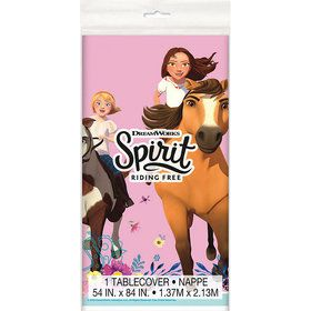 Spirit Riding Free Plastic Table Cover (1)