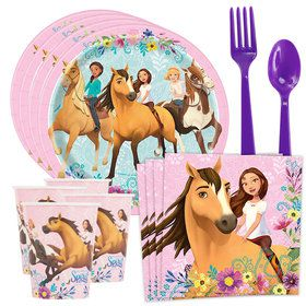 Spirit Riding Free Standard Tableware Kit (Serves 8)
