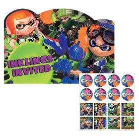 Splatoon Invitations (8)