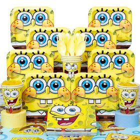 SpongeBob Birthday Party Deluxe Tableware Kit (Serves 8)
