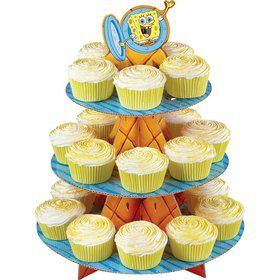 SpongeBob Cupcake and Treat Stand (Each)