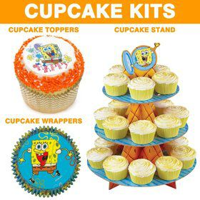 Spongebob Cupcake Kit