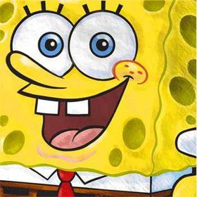 Spongebob Napkins (16-pack)
