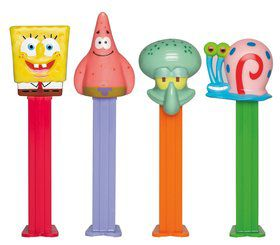 SpongeBob Pez Dispenser and Candy Set (Each)