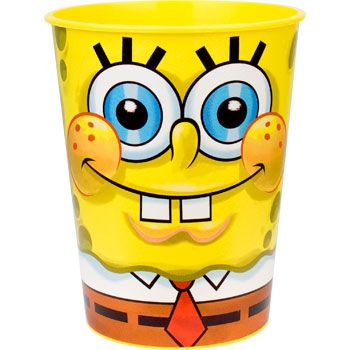 Spongebob Plastic Party Cup (Each) BB016614