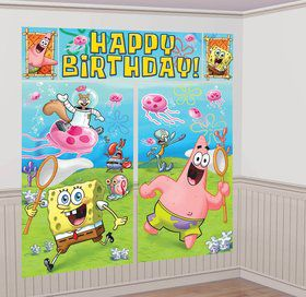 SpongeBob Scene Setter Wall Decorating Set (Each)