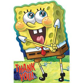 SpongeBob Thank You Notes (8-pack)