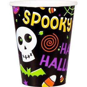 Spooktacular 9oz Cups (50 Count)