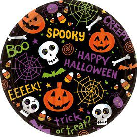 Spooktacular Cake 7 Inch Plates (60 Count)