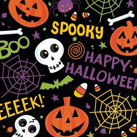 Spooktacular Lunch Napkins (125 Count)