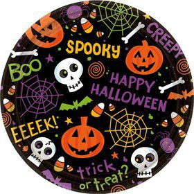 Spooktacular Luncheon 9-Inch Plates (60 Count)