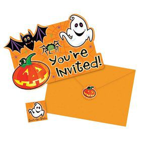 Spooktacular Val-Pack Invitations (20 Count)