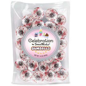 Spooky Eyes Gumballs 14oz Bag