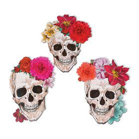 Spooky Floral Wall Cutouts (3)