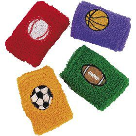 Sports Ball Wristband (12 Pack)