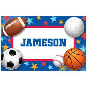 Sports Birthday Personalized Placemat (each)