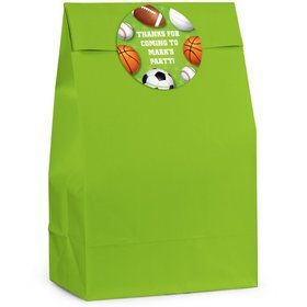 Sports Personalized Favor Bag (Set Of 12)