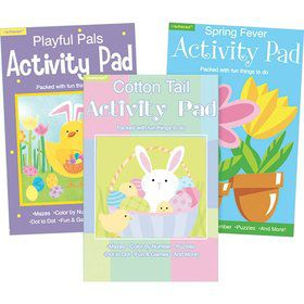 Springtime Easter Activity Pad (Each)